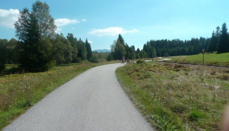 Cyklostezka Stožec