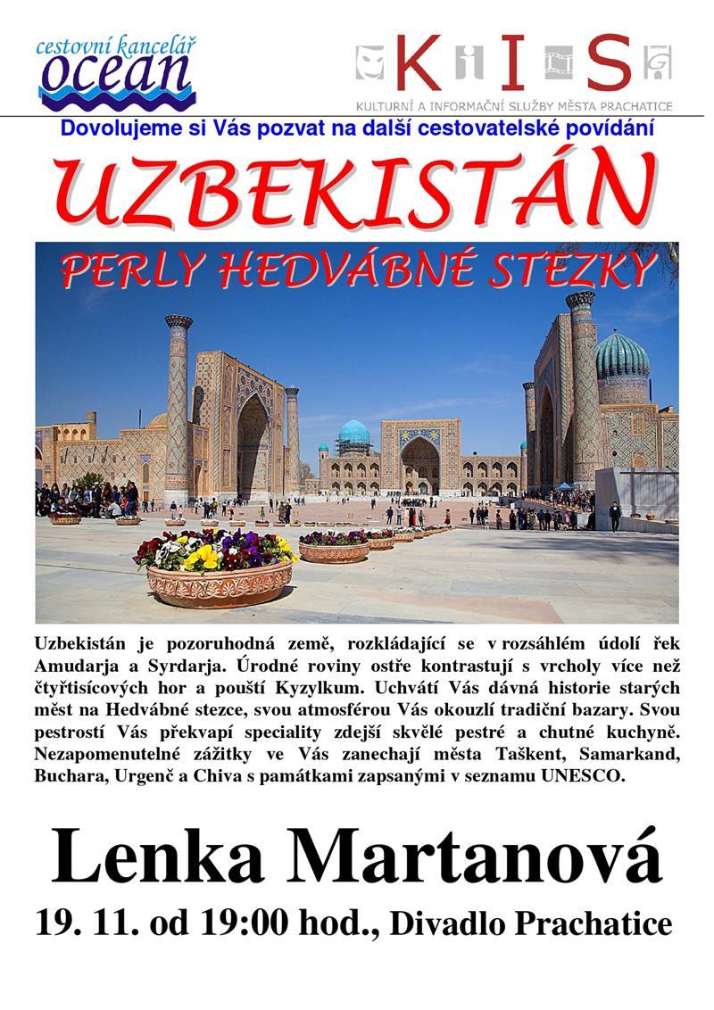 uzbekistán - přednáška