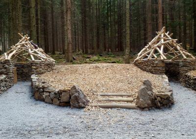 Areál lesních her